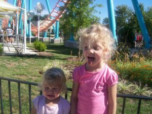 a meltdown at the amusement park.; i wouldn't trade one moment with my children,
